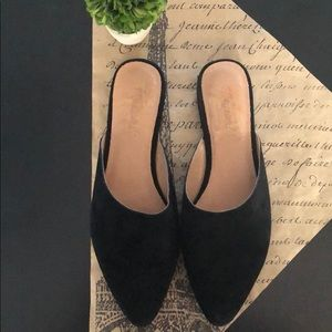 Madewell Remi Mule in Suede